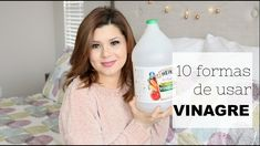 Vinagre: 10 formas de usarlo en la limpieza diaria Small Apartment Furniture, Limpieza Natural, Spray Bottle, Cleaning Supplies, Household, Personal Care, Youtube, Small Apartments, Tropical
