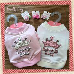 Nuestra recomendación de hoy es este outfit ideal para perrunas coquetas. #Pink #Dogs #Apparel #Outfit
