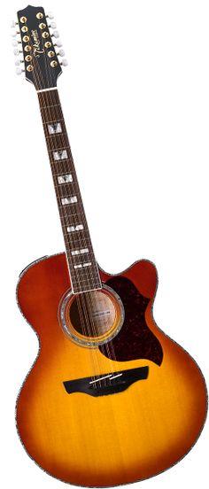 Takamine EG523CDXHB-12 12-String guitar.