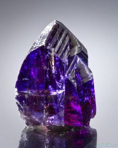 06106ef8b83 Tanzanite with a gorgeous mix of colors. From Merelani Mines, Lelatema Mts,  Arusha Region, Tanzania