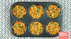 Babeczki warzywne z piekarnika - FIT OBIAD Kobieceinspiracje.pl Dinner, Breakfast, Fitness, Food, Youtube, Dining, Morning Coffee, Meal, Dinners