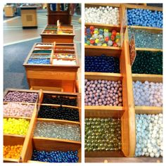 Marbles made in WV (the Marble King) and sold at Tamarack - The Best of WV