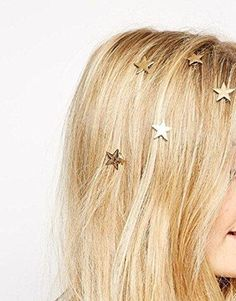 Elegant Pearl Star Gold Metal Swirl Spiral Hair Spin Screw Coils Hairpin Bobby Pin Hair Twist Barrette Magic Roll Donut Bun Braid Ponytail Hairstyle Styling Tool Wedding Bridal Party Accessories