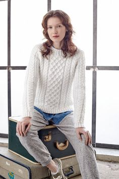 Knitting pattern from Rowan Selects: Softest Merino, McA direct