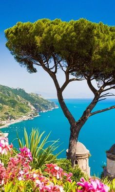 The unparalleled views from Villa Rufolo, Ravello.
