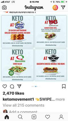 Keto Diet Meal Plan Weight Loss - No Carb Ketogenic Diet - Kalorienarme Rezepte Low Calorie Fast Food, Keto Fast Food, Low Carb Meal Plan, Keto Diet Plan, Ketogenic Diet For Beginners, Keto Diet For Beginners, Keto Restaurant, Keto On The Go, Weight Loss Meal Plan