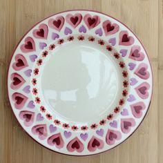 Cheap Price Emma Bridgewater Liberty Anemone Cake Plate 1st Easy And Simple To Handle Pottery