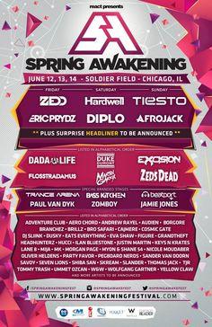 Spring Awakening Music Festival 2015 Lineup