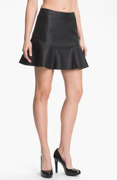 Remain Faux Leather Skirt