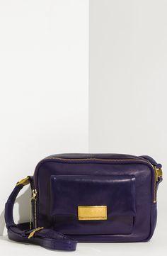 3.1 phillip lim Lynus - Camera Lambskin Leather Crossbody Bag in Blue (sapphire) | Lyst