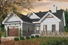 Ideas Simple House Plans One Story Farmhouse Garage House Plans, House Plans One Story, House Plans And More, Craftsman Style House Plans, Best House Plans, Modern House Plans, Small House Plans, Car Garage, Affordable House Plans