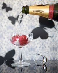 Black Pepper-Raspberry Sorbet with Prosecco Recipe on Food & Wine