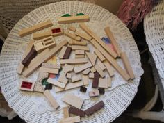 Group of Building Blocks 55 Pcs by Daysgonebytreasures on Etsy, $12.00