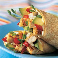 California Chicken Wrap | MyRecipes.com