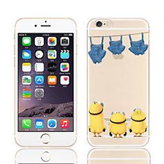 geel mensen patroon pc harde telefoon Case voor iPhone 5 / 5s