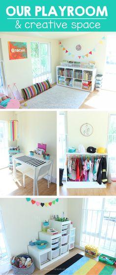 Our Playroom & Creative Space | Mama.Papa.Bubba.