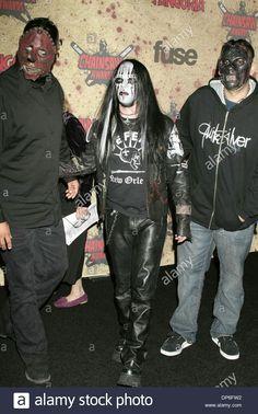 Slipknot. Joey Jordison. Paul Gray. Chris Fehn