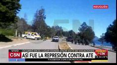 La represión contra ATE en Neuquén
