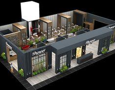 ilkay yılmaz on Behance Cafe Shop Design, Coffee Shop Interior Design, Kiosk Design, Outdoor Restaurant Design, Restaurant Exterior, Restaurant Interior Design, Exhibition Stall Design, Showroom Design, Web Banner Design
