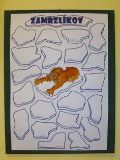 Třída U veverky - Zamzlíkov - vyznačování zapomínání, každý má svojí kru.