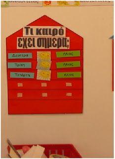 1ο Νηπιαγωγείο Λυκόβρυσης: Οι πρώτες μέρες στο Νηπιαγωγείο - Μέρος ΙΙ Greek Language, Periodic Table, Preschool, Management, Boards, Classroom, Weather, Learning, Blog