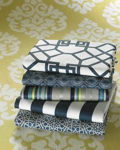 Windsor Smith for Kravet -blue fabrics