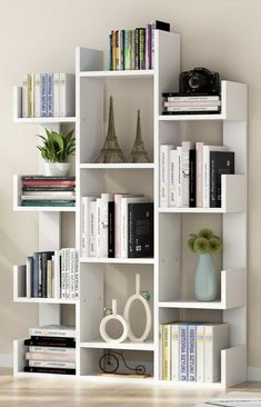60+ Bookshelf Ideas to Decorate Room and Organize Your Book #home #homedesign #homedesignideas #homedecorideas #homedecor #decor #decoration #diy #bookshelf