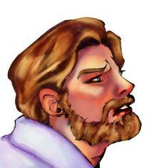 Obi Wan, Illustrations, Portrait, Tattoos, Art, Art Background, Tatuajes, Headshot Photography, Illustration