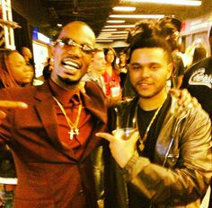 The Weeknd and Juicy J