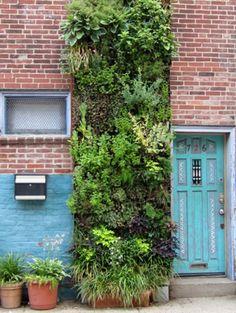 Een verticale tuin | ELLE