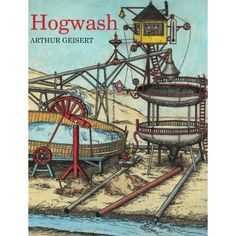 """Tucked away in these intricate pages of pigs and machines are some powerful economics lessons about capital resources and innovation.  The clever mamas are innovators in every way, and the washing contraption they designed not only saves them time, but it also entertains their little ones.  This splendid book adds a whole new dimension to the phrase """"a bunch of hogwash,"""" and readers may have difficulty ever again equating hogwash with baloney."""