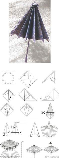 origami semsiye yapimi
