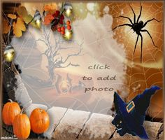Halloween Halloween Frames, Pumpkin, Wreaths, Sad, Outdoor, Home Decor, Halloween Night, Outdoors, Halloween Picture Frames