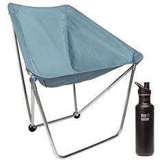 Alite Bison Chair Tiburon Blue  with Free 27oz Stainless Water Bottle Shale * Details on Yoga product can be viewed by clicking the image
