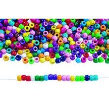 Beads with large holes