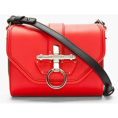GIVENCHY Red Leather