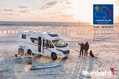 Free on Tour Caravan Salon, Hymer, Halle, Vans, Camping Car, Camper Van, Sunlight, Recreational Vehicles, Cabin