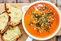 Tomaattikeitto tuoreista tomaateista - Reseptit - Arla
