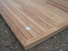 comment poser une terrasse en bois composite lames. Black Bedroom Furniture Sets. Home Design Ideas