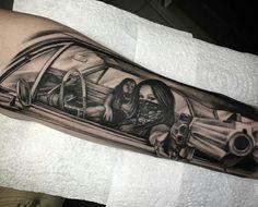 Tattoo Arm Ghetto Funktion Girls Arm