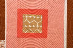 Umbrella Prints (fabric) mini quilt   by Film in the Fridge