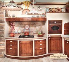 Gallery cucine in muratura Rhonda Shabby Chic Kitchen, Diy Kitchen, Kitchen Storage, Kitchen Decor, Pantry Design, Kitchen Cabinet Design, Mexican Home Decor, Traditional Kitchen, Cool House Designs