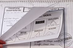 Interactive Math Notebooks: Math notes that don't suck! Math Teacher, Math Classroom, Teaching Math, Teaching Strategies, Teaching Ideas, Interactive Student Notebooks, Math Notebooks, Math Measurement, Math Fractions