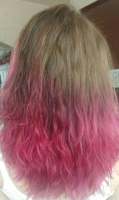 My pink hair!