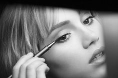 Suki Waterhouse in Burberry Beauty Campaign - Burberry Eyes Collection @gtl_clothing #getthelook http://gtl.clothing