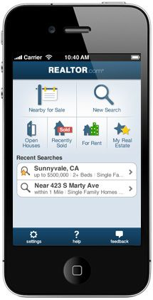 Search On-the-go with The Official REALTOR.com® iPhone Real Estate App.