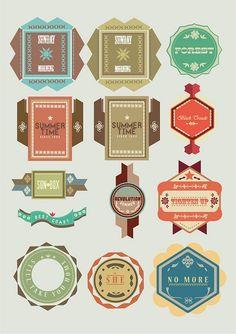 Vintage Logos #branding #design #typography #graphic_design #logo