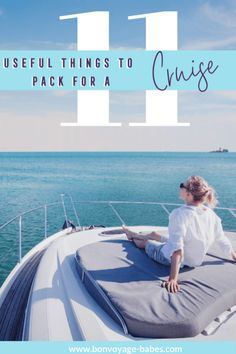 Headed on a cruise? Take a peak at these useful items you might need for your next sea journey. Some are essential and others are items you didn't know you needed! Packing For A Cruise, Cruise Tips, Cruise Travel, Cruise Vacation, Packing Tips, Backpacking Europe, Europe Travel Tips, Europe Packing, Traveling Europe
