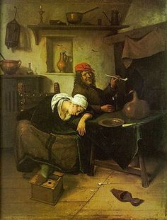 The State Hermitage Museum: Collection Highlights. The Idlers Jan Steen