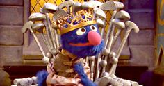 'Sesame Street' Gets Epic with 'Game of Thrones' Parody -- 'Sesame Street' predicts the end of 'Game of Thrones' with a game of musical chairs in a weird and hilarious new video. -- http://www.movieweb.com/sesame-street-game-of-thrones-parody
